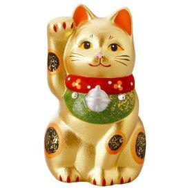 【ネコポス不可】黄金招き猫(小) K6102【A】【キャンセル・返品不可】