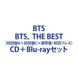 BTS / BTS, THE BEST(初回盤A+初回盤C+通常盤・初回プレス) [CD+Blu-rayセット]