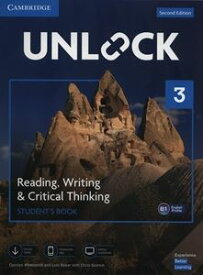Unlock 2/E Reading Writing & Critical Thinking Level 3 Student's Book Mob App and Online Workbook w/Downloadable Video