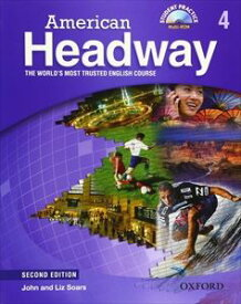 American Headway 2nd Edition Level 4 Student Book with Multi-ROM