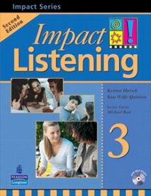 Impact Listening 2nd Edition 3 Student Book+CD
