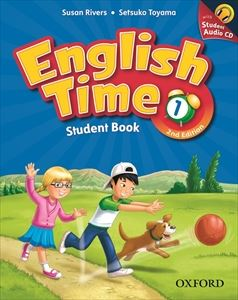 English Time 2nd Edition Level 1 Student Book with Student CD Pack
