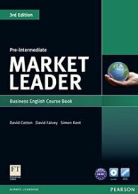 Market Leader 3rd Edition Pre-Intermediate Coursebook with DVD-ROM