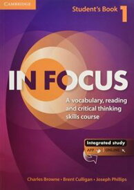 In Focus 1 Student's Book with Online Resources