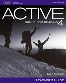 ACTIVE Skills for Reading 3rd Edition Book 4 Teacher's Book's Manual