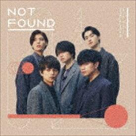 Sexy Zone / NOT FOUND(通常盤) (初回仕様) [CD]