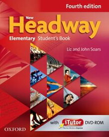 New Headway 4th Edition Elementary Student Book with iTutor Pack
