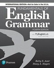 Azar-Hagen Grammar Fundamentals English Grammar 4th Edition Student Book with MyLab Access