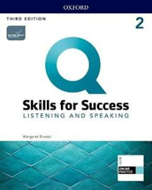 Q: Skills for Success 3/E: Listening and Speaking Level 2 Student Book with iQ Online Practice