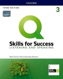 Q: Skills for Success 3/E: Listening and Speaking Level 3 Student Book with iQ Online Practice