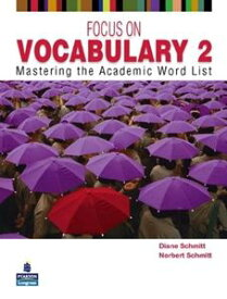 Focus on Vocabulary 2nd Edition Student Book 2