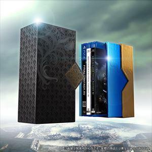 《送料無料》Film Collections Box FINAL FANTASY XV(PlayStation4「FINAL FANTASY XV」ゲームディスク付き)(数量限定生産盤)(Blu-ray)
