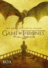 ゲーム・オブ・スローンズ 第五章:竜との舞踏 DVDセット [DVD]