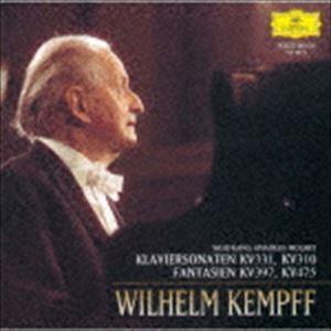 ヴィルヘルム・ケンプ(p)/モーツァルト:ピアノ・ソナタ第11番≪トルコ行進曲付き≫/第8番 幻想曲K397/K475(期間限定盤) ※再発売(CD)