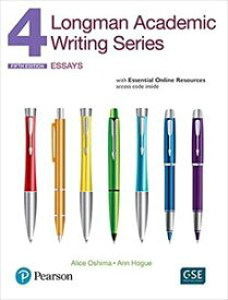 Longman Academic Writing Series: 4 Student Book with Online Resources (5/ED)