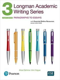 Longman Academic Writing Series: 3 Student Book with Online Resources (4/E)