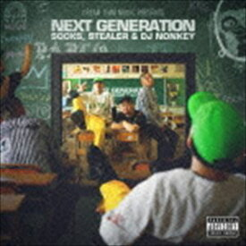 "SOCKS,STEALER & DJ NONKEY / DREAM TEAM MUSIC Presents ""NEXT GENERATION"" [CD]"