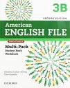 American English File 2nd Edition Level 3 Multipack B with Online Practice