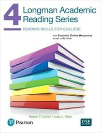 Longman Academic Reading Series 4 Student Book with online resources
