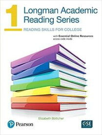 Longman Academic Reading Series 1 Student Book with online resources