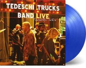 輸入盤 TEDESCHI TRUCKS BAND / EVERYBODY'S TALKIN (MOV BLUE VINYL) (LTD) [3LP]