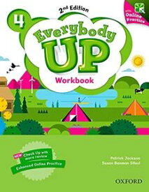 Everybody Up 2nd Edition Level 4 Workbook with Online Practice