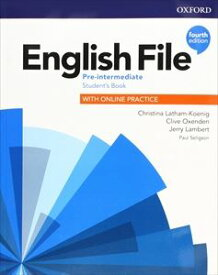 English File 4th Edition Pre-Intermediate Student Book with Online Practice