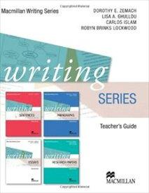 Writing Series New Edition Teacher's Book's Book