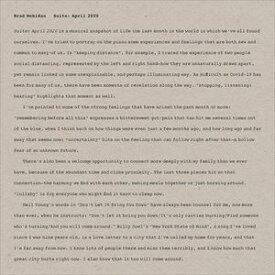 輸入盤 BRAD MEHLDAU / SUITE : APRIL 2020 (LTD) [LP]