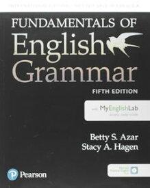 Azar-Hagen Fundamentals of English Grammar 5th Edition Fundamentals Student Book with MyLab