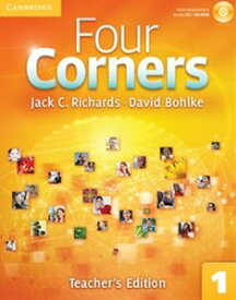 Four Corners Level 1 Teacher's Book's Edition with Assessment Audio CD/CD-ROM