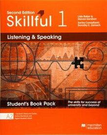 Skillful 2/E Listening & Speaking 1 Student Book + Digital Student Book Pack