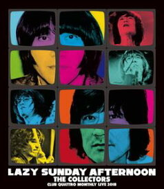 """THE COLLECTORS/CLUB QUATTORO MONTHLY LIVE 2018 """"LAZY SUNDAY AFTERNOON"""" (初回仕様) [Blu-ray]"""