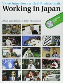Working In Japan Student Book with DVD