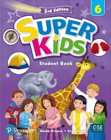 SuperKids 3/E 6 Student Book w/ Audio CDs and PEP access code