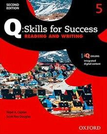 Q: Skills for Success 2E: Reading & Writing: Level 5 SB