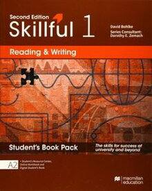Skillful 2/E Reading & Writing 1 Student Book + Digital Student Book Pack