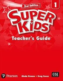 SuperKids 3/E 1 Teacher's Book's Book w/PEP access code