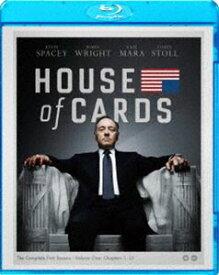 ハウス・オブ・カード 野望の階段 SEASON1 ブルーレイ コンプリートパック [Blu-ray]