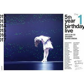 乃木坂46/5th YEAR BIRTHDAY LIVE 2017.2.20-22 SAITAMA SUPER ARENA Day1 [Blu-ray]
