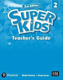 SuperKids 3/E 2 Teacher's Book's Book w/PEP access code