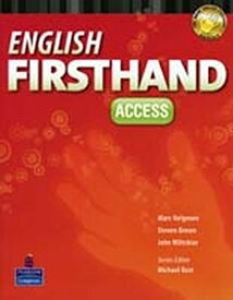 English Firsthand 4th Edition Access Student Book with CDs