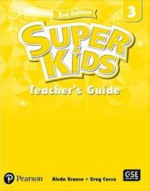 SuperKids 3/E 3 Teacher's Book's Book w/PEP access code