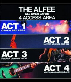 THE ALFEE/THE ALFEE ALL OVER JAPAN 4ACCESS AREA 1988 [Blu-ray]