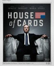 ハウス・オブ・カード 野望の階段 SEASON 1 Blu-ray Complete Package<デヴィッド・フィンチャー完全監修パッケージ仕様> [Blu-ray]