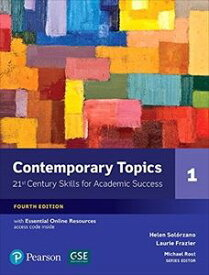 Contemporary Topics 4/E: Level 1 Student Book w/Essential Online Resource