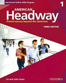 American Headway 3rd Edition Level 1 Student Book with Oxford Online Skills