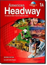 American Headway 2nd Edition Level 1 Split Student Book A with Multi-ROM