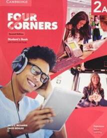 Four Corners 2/E Level 2 Student's Book A with Self-study