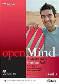 Open Mind 2/E 3 Student's Book Premium Pack